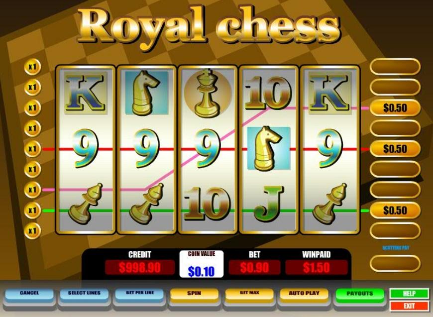 Royal Chess Slot Machine